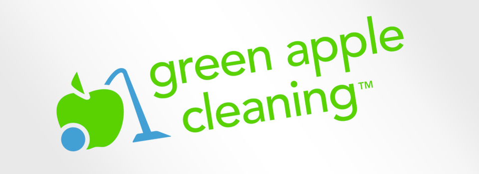 Green Apple Cleaning Brand Identity